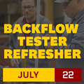 Backflow Tester Refresher Workshop | 14 October 2019