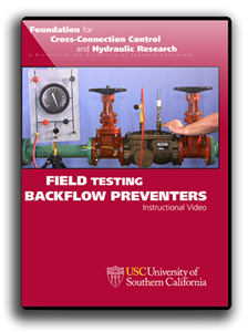 Field Testing Backflow Preventers, 10th Edition version DVD Video